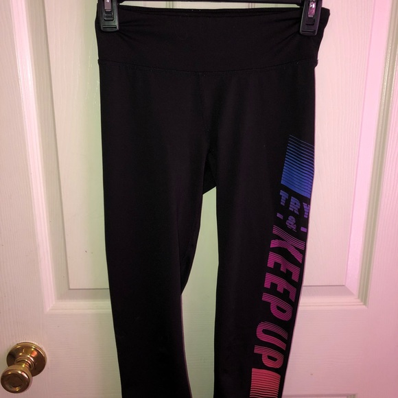 37011bc1f592e5 Aeropostale Pants | Live Love Dream Athletic Leggings | Poshmark